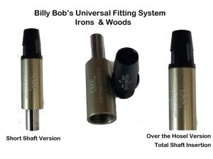 CMX® Inserting Fitting System (Short Shaft Version Like Club Conex® or Over The Hosel With Full Insertion)