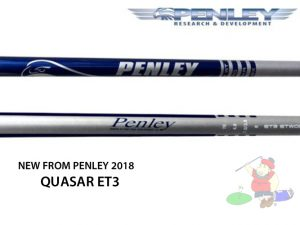 Penley Quasar ET3 Wood Shaft  New Release 2018... Free Ship and Tip